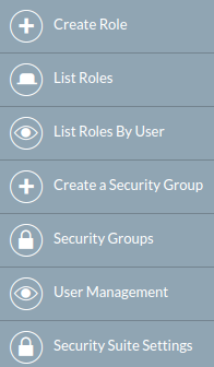Roles and Security Groups :: Docs